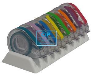 ZIRC E-Z ID TAPE SYSTEM NEON (8x91cm/kleuren J t/m S)