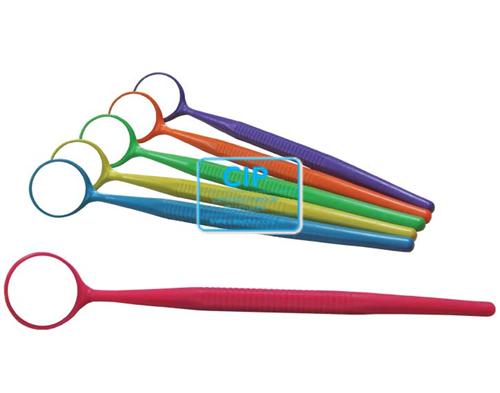 ZIRC CRYSTAL PLASTIC MONDSPIEGELS MAAT 4 MET HEFT ASSORTIMENT KLEUR NEON (12st)