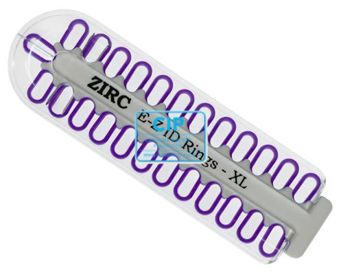 ZIRC E-Z ID CODE-RINGEN XLARGE NEON PAARS (25st)