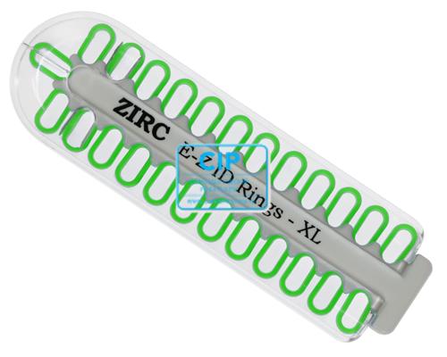 ZIRC E-Z ID CODE-RINGEN XLARGE NEON GROEN (25st)