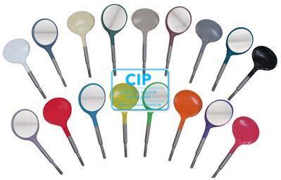 ZIRC CRYSTAL PLASTIC MONDSPIEGELS MAAT 5 KLEUR A WIT (12st)