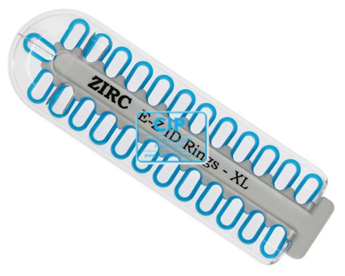 ZIRC E-Z ID CODE-RINGEN XLARGE NEON BLAUW (25st)