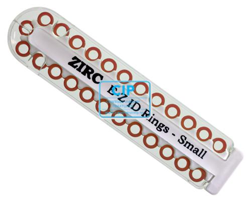 ZIRC E-Z ID CODE-RINGEN SMALL U BRUIN (25st)