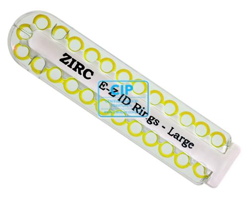 ZIRC E-Z ID CODE-RINGEN LARGE O GEEL (25st)