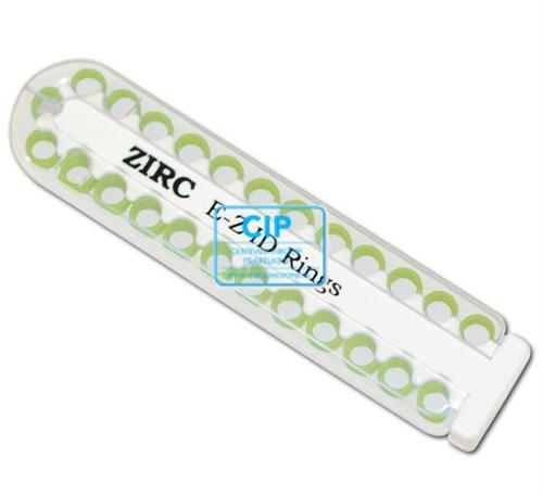 ZIRC E-Z ID ZIRC CODE RINGEN LARGE J TURQUOISE (25st)