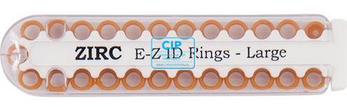 ZIRC E-Z ID ZIRC CODE RINGEN LARGE U KOPER (25st)