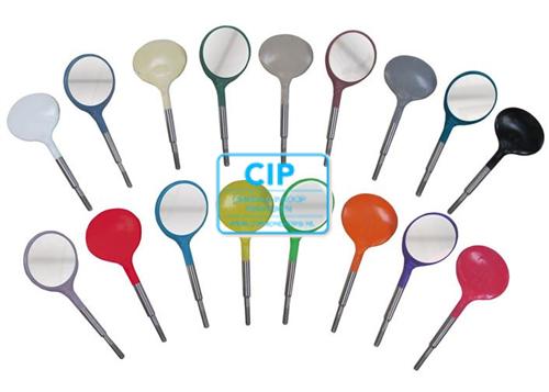 ZIRC CRYSTAL PLASTIC MONDSPIEGELS MAAT 5 KLEUR M ROOD (12st)