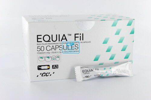 GC EQUIA FIL SINGLE SHADE PACK CAPSULES A3 (50st)