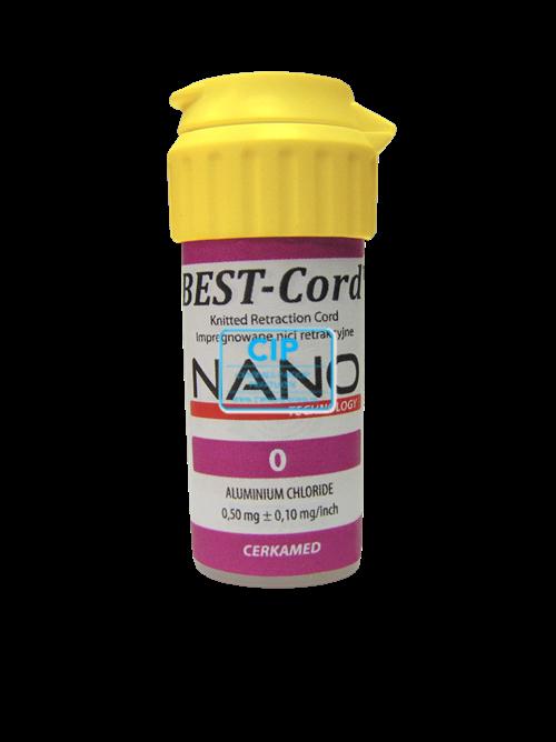 CERKAMED BEST CORD RETRACTIE DRAAD NANO NR.0 MET ALUMINIUM CHLORIDE (254cm)