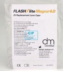 DENMAT FLASHLITE MAGNA 4.0 LENS CAPS (25st) CR1082
