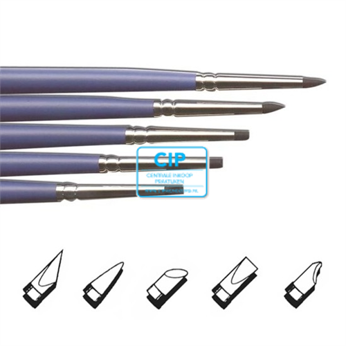 MICERIUM SILICON BRUSH TIPS SMALL HARD ASSORTED 1-5 (5st)