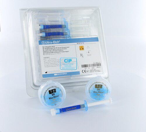 ULTRADENT ULTRA-ETCHGEL IN SPUITJES ECONOMYPACK (20x1,2ml/40x blue micro tips)