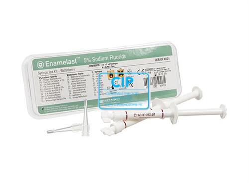 ULTRADENT ENAMELAST WALTERBERRY SYRINGE KIT (2x1,2ml/4x SOFT EZ TIPS)