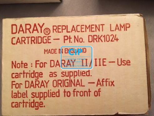 DARAY RESERVE LAMP 12V/55W CARTRIDGE NR. DRK1024