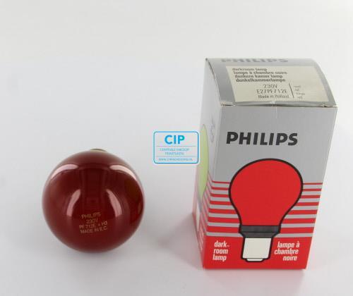 PHILIPS DOKA LAMP ROOD 712