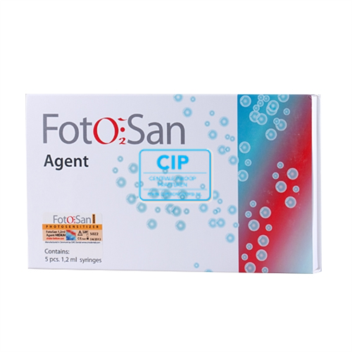 CMS-DENTAL FOTOSAN AGENT LOW SYRINGE (5x1,2ml)