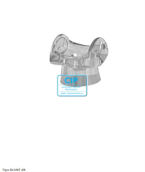 CMS-DENTAL FOTOSAN 630 BLUNT TIPS 8mm (50st)