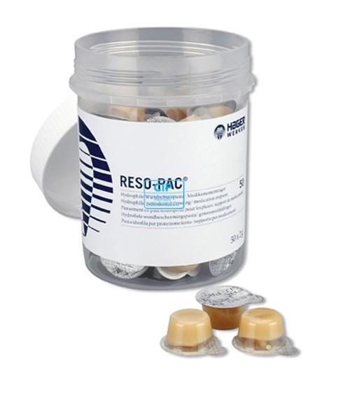 HAGER&WERKEN RESO-PAC WONDVERBAND SINGLE-USE CUPS (50x2gr)