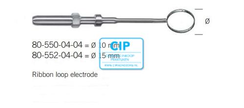 KLS MARTIN LUS ELEKTRODE 10mm NR.80-550-04-04