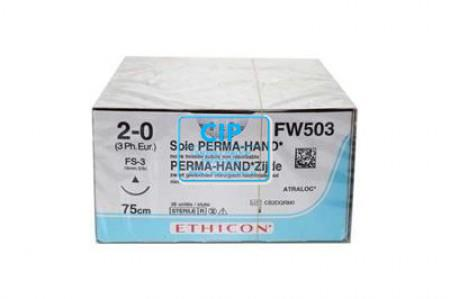 J&J ETHICON 2-0 FW503 MET NAALD FS3 75cm (36st)