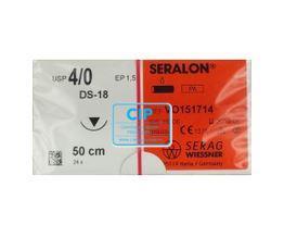 SERAG WIESSNER SERALON BLAUW 4-0 DS18 75cm (24st)