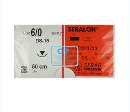 SERAG WIESSNER SERALON BLAUW 6-0 DS15 50cm (24st)
