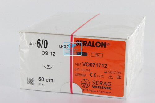 SERAG WIESSNER SERALON BLAUW 6-0 DS12 50cm (24st)