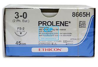 J&J PROLENE 6-0 8660H MET NAALD M0.7 45cm (36st)