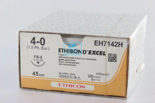 J&J ETHIBOND 4-0 EH7142H MET NAALD FS2 45cm (36st)
