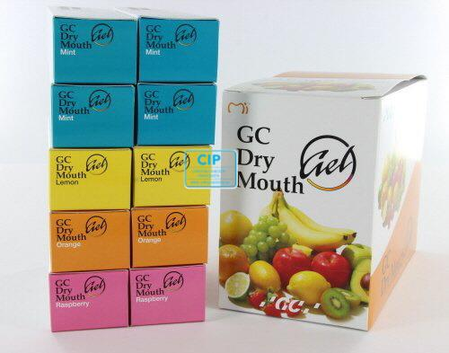 GC DRY MOUTH GEL ASSORTED (10st)