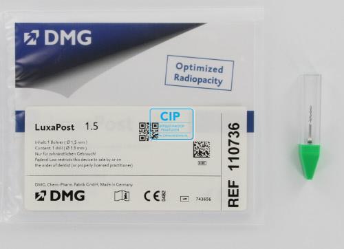 DMG LUXAPOST BOOR 1,5mm GROEN (1st)