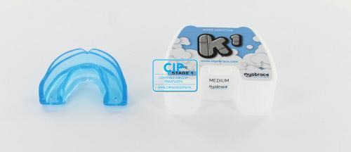 MYOFUNCTIONAL MYOBRACE K1 FOR KIDS MEDIUM BLAUW STAGE 1