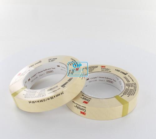 3M COMPLY STEAM INDICATOR TAPE NR.1322 (18mm)