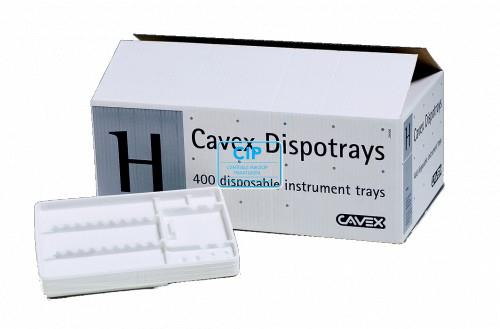 CAVEX DISPOSABLE TRAY INSERTS 18x28 cm (400st)