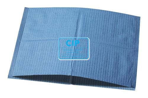 AKZENTA HOOFDSTEUNZAKKEN ONE SOFT COVER MAGIC BLUE 25x33cm GEVOUWEN (500st)
