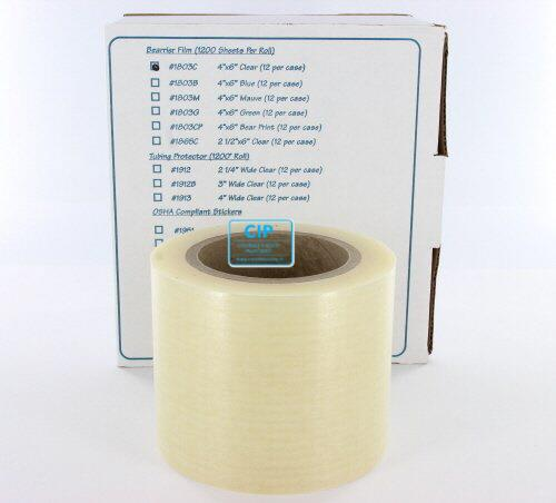 PALMERO HEALTH CARE BARRIER FILM TRANSPARANT OP ROL 10x15cm (1200st)