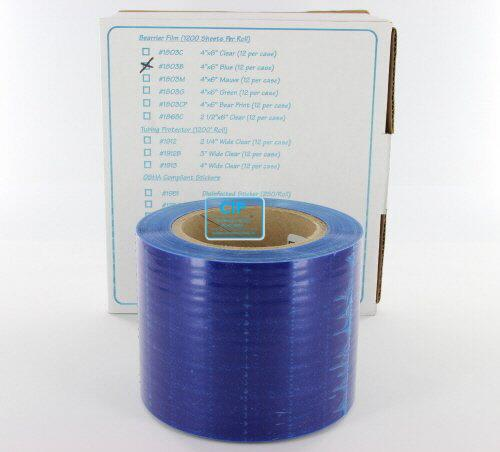 PALMERO HEALTH CARE BARRIER FILM BLAUW OP ROL 10x15 (1200st)