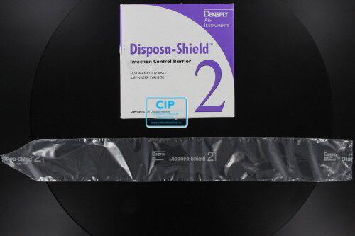 DENTSPLY DISPOSA-SHIELD BESCHERMINGSHOEZEN NR.2 (MEERFUNKTIE-SPUIT)