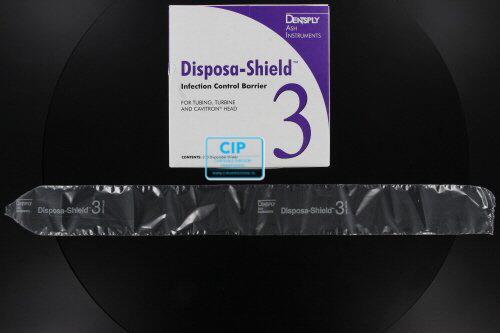 DENTSPLY DISPOSA-SHIELD BESCHERMINGSHOEZEN NR.3 (HOEKSTUK)