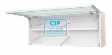 INFRATRONIC SOLUTIONS KLEP XL GLAS SOFT WHITE (1000x420mm)