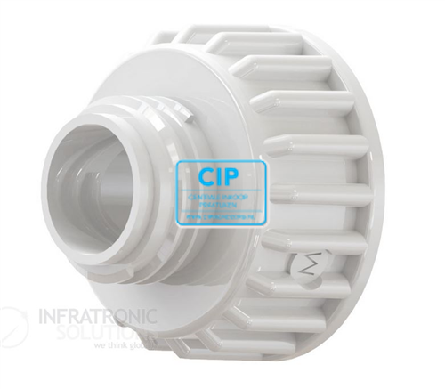INFRATRONIC SOLUTIONS FLES ADAPTER MAAT M INCLUSIEF O-RING