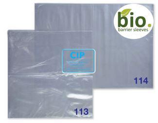 PREMIUM PLUS HEADREST BIO SLEEVES 26x27,5cm (500st)