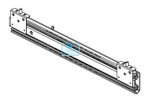 H+H SYSTEM LADE GELEIDER TELESCOPISCH ISO 400mm (2st)