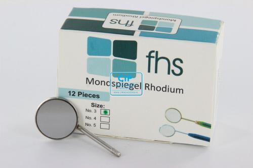 FHS MONDSPIEGELS RHODIUM NR.3 (12st)