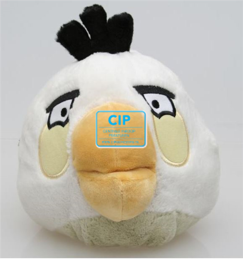 BEST PRESENT PLUCHE ANGRY BIRD WIT