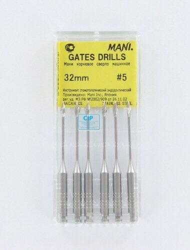 MANI GATES DRILLS 32mm NR.5 (6st)