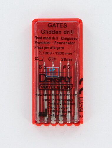 MAILLEFER GATES GLIDDEN DRILLS 28mm NR.2 (6st)
