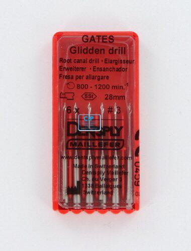 MAILLEFER GATES GLIDDEN DRILLS 28mm NR.3 (6st)
