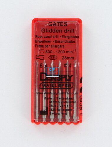 MAILLEFER GATES GLIDDEN DRILLS 28mm NR.4 (6st)