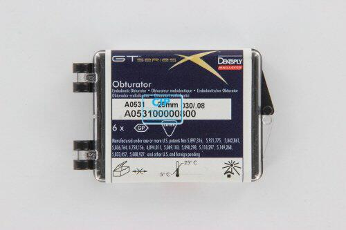 MAILLEFER SYSTEM GTX OBTURATORS 25mm .08 NR.30 BLAUW (6st)